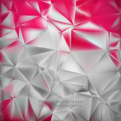 Free Pink and Grey Polygonal Background Illustration