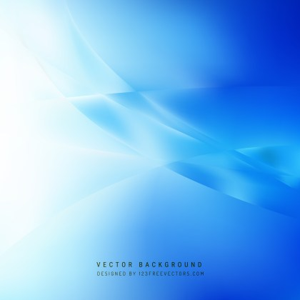 Free Blue Wave Background Vector