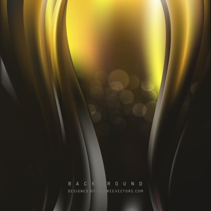 Free Abstract Cool Gold Vertical Wave Background Image