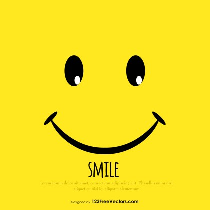 Smiley Face Background Free Download