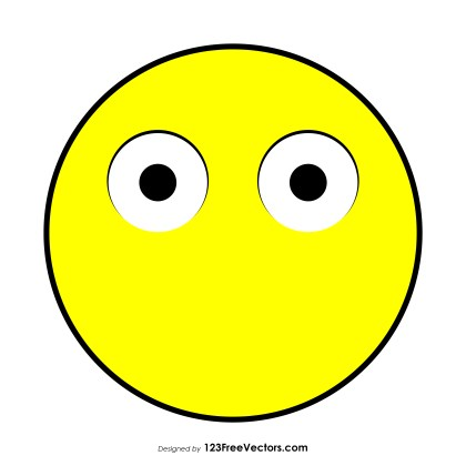 Face Without Mouth Emoji Vector