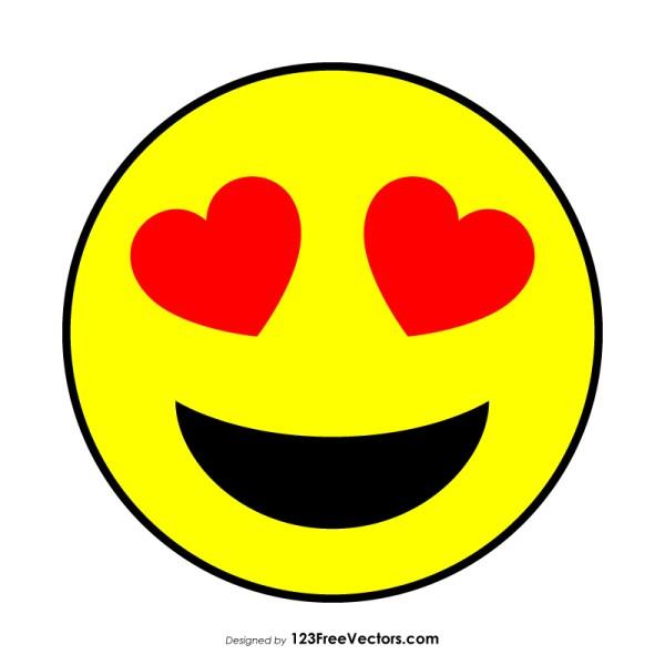 In Love Smiley Face