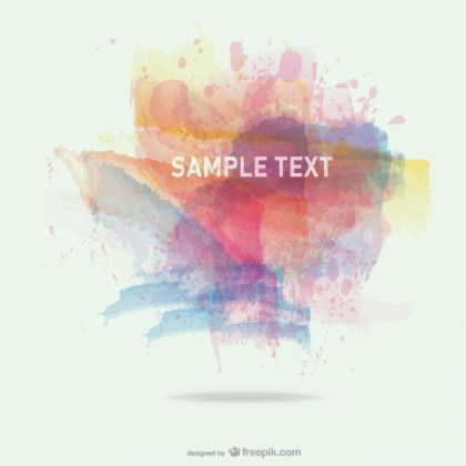 Free Background Abstract Splashes Free Vector