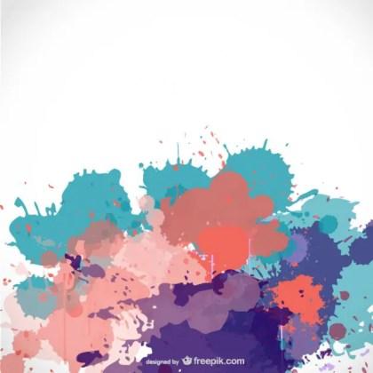 Paint Splash Free Background Free Vector
