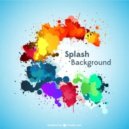 Splash Background Free Download Free Vector