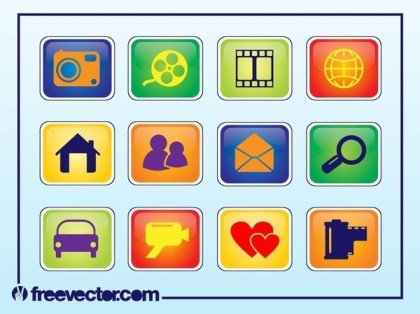 Free Web Buttons Free Vector