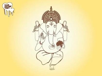 Ganesha Free Vector