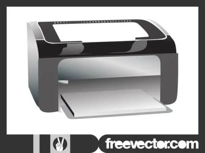 printer free vector 123freevectors