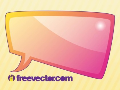Speech Bubble Free Vector