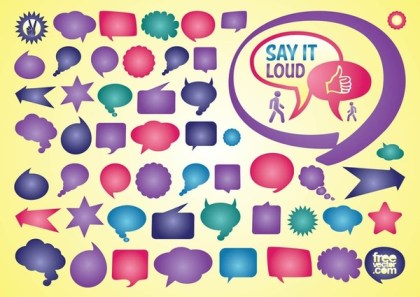 Speech Bubble s Free Vector