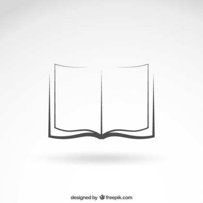 Open Book Icon Free Vector
