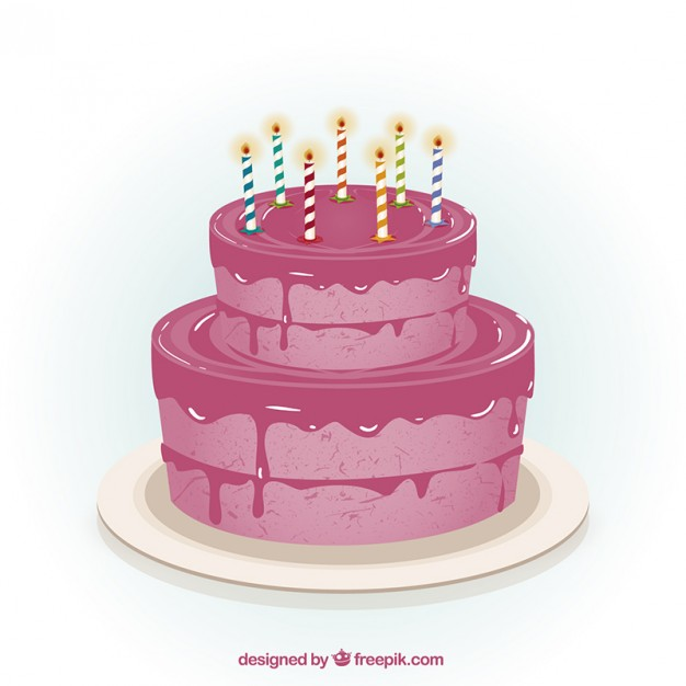 Free Wedding Cake Vector