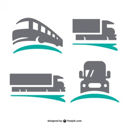 Transport Logos Free Vector