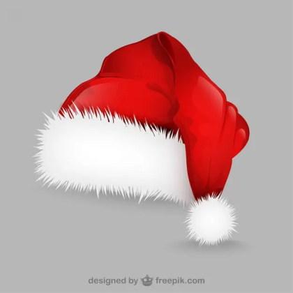 Santa Claus Hat Illustration Free Vector