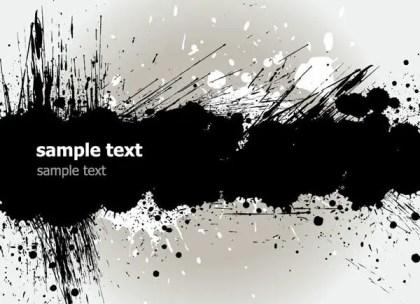 Grunge Text Banner Download