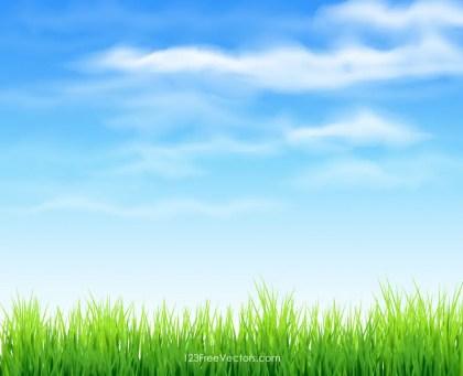 grass sky free vector grass sky free vector