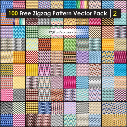 Free Chevron Zigzag Pattern Background Vector Pack