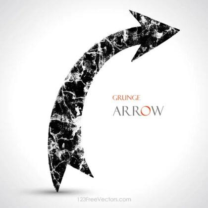 Grunge Arrow Vector Download