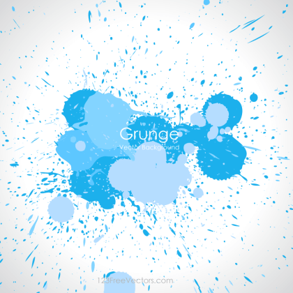 Paint Splatter Vector Background