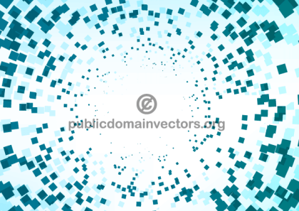 Vector Abstract Square Shapes Background