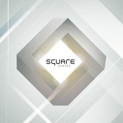 Square Background Vector Graphics