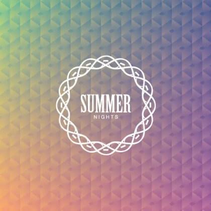 Summer Nights Background Design