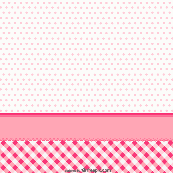 Checkered Tablecloth Background Vector