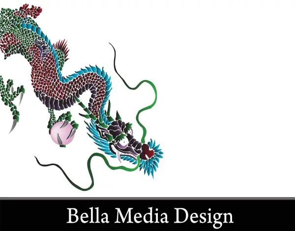 Free Japanese Dragon Vector Art