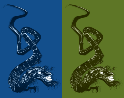 Japanese Dragon Vector Image Free