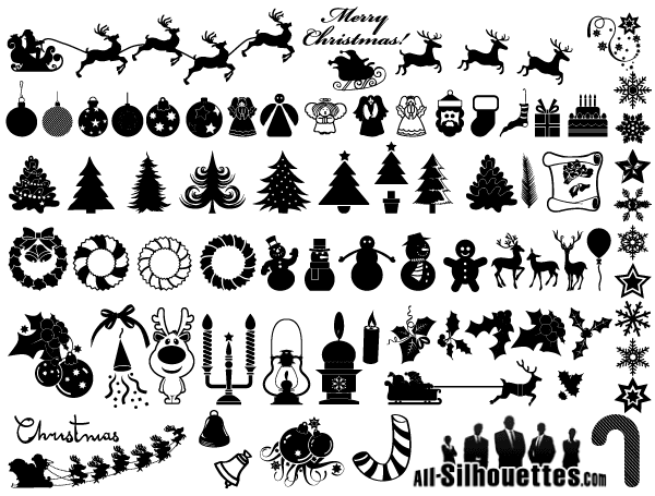 Free Christmas png images clipart png on a transparent background - download