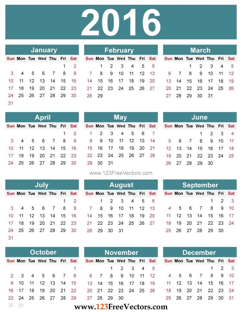 2016 Calendar Template With Holidays from i2.wp.com
