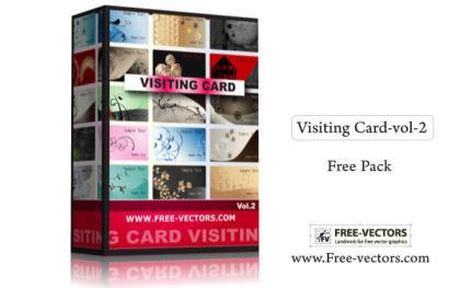 Visiting Card Free Vector Pack-2