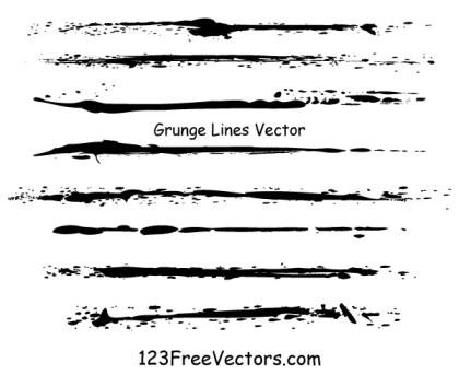 Grunge Lines Vector Illustrator
