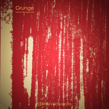 Red Grunge Background Free