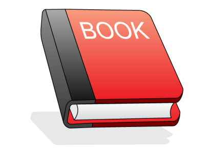 Red Book Icon Free Vector Illustration