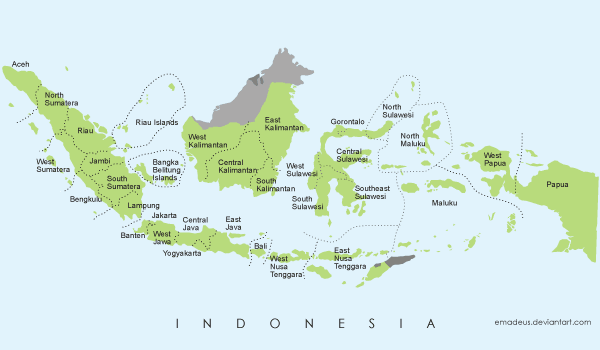 free vector map of indonesia free vector map of indonesia