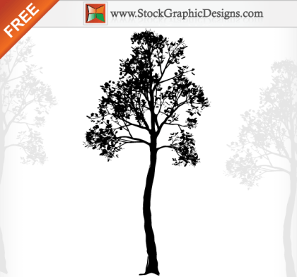 Nature Tree Free Vector Illustration