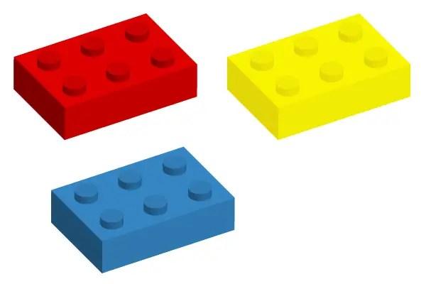lego brick vector art  123freevectors