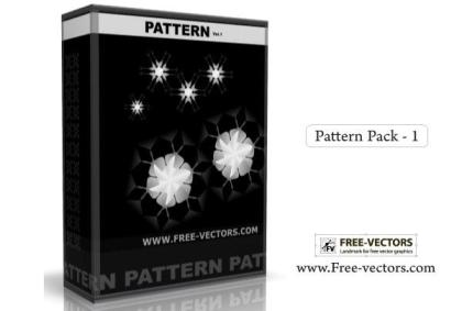 Pattern Background Free Vector Pack-1