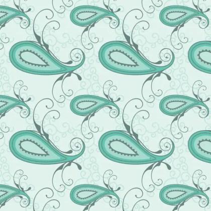 Paisley Seamless Pattern Vector Free