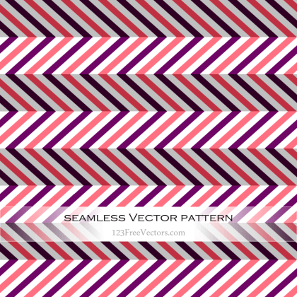 Violet and Pink Seamless Zigzag Pattern