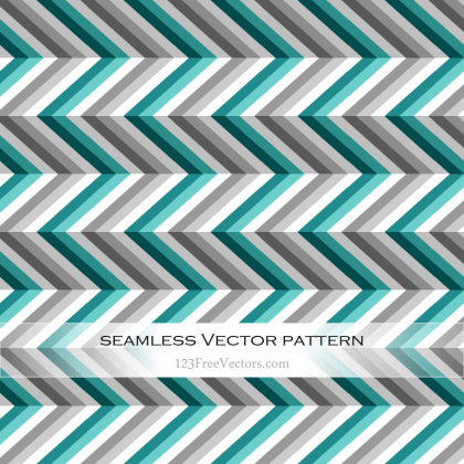 Zigzag Chevron Seamless Pattern Illustrator