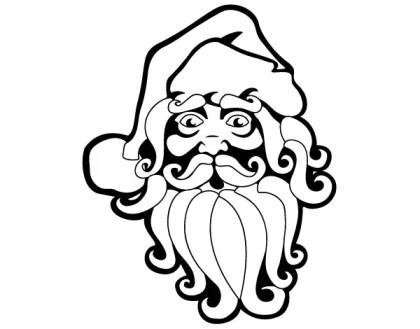 Free Santa Claus Vector Clip Art