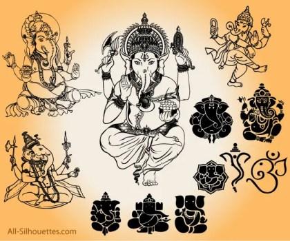 Vector Ganesha