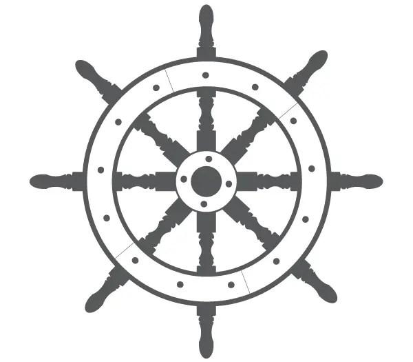 ship steering wheel free vector ship steering wheel free vector