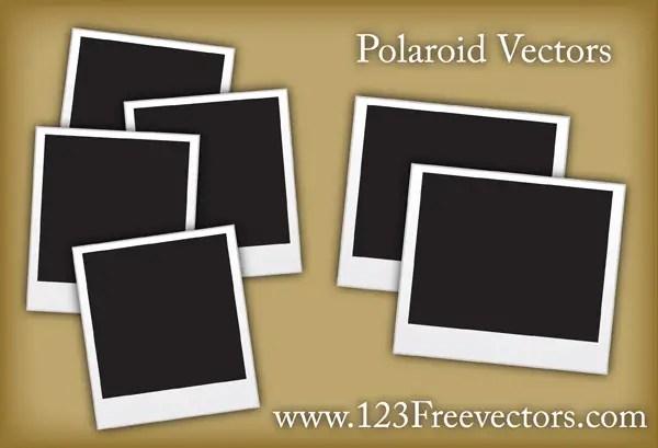 Yellow Polaroid Frame