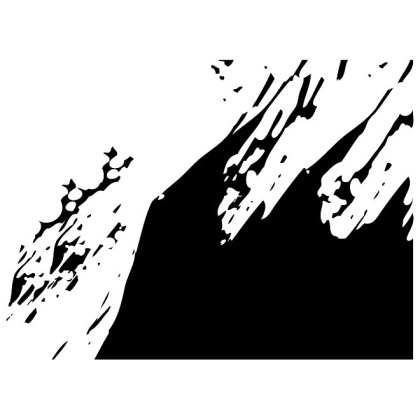 Background with Ink Splatter Free Vector