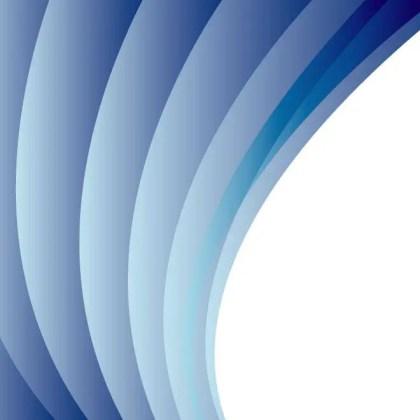 Blue Curtain Free Vector