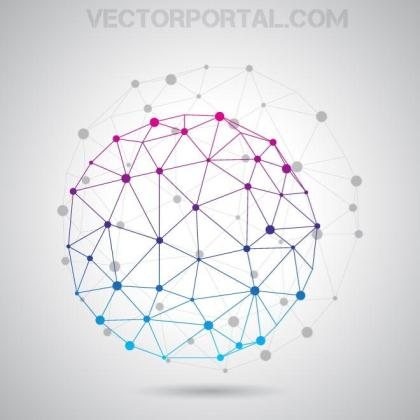 Communication Background Free Vector