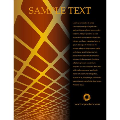 Free Abstract Page Design Free Vector